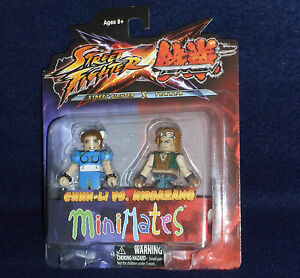 Street Fighter X Tekken Minimates série 2 Chun-Li vs Hwoarang