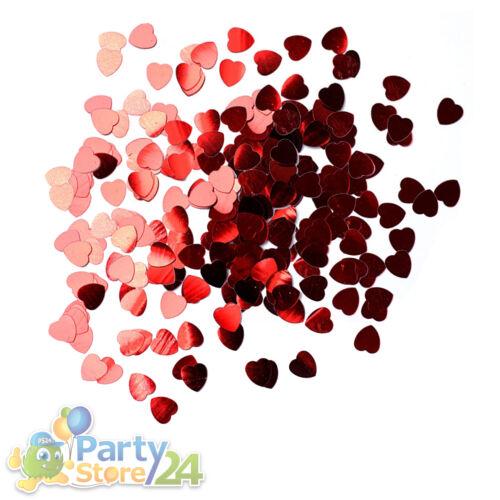 Streudeko Valentinstag Party Tisch Deko Liebe Heirat Antrag Rose Herz Romantisch
