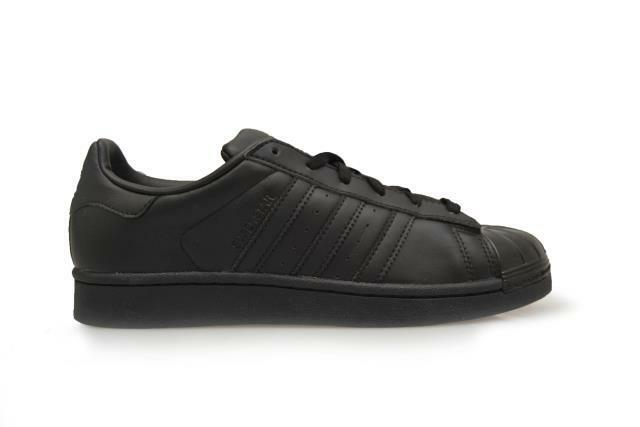 Womens Adidas Superstar Glossy Toe W - BB0684 - Black Trainers