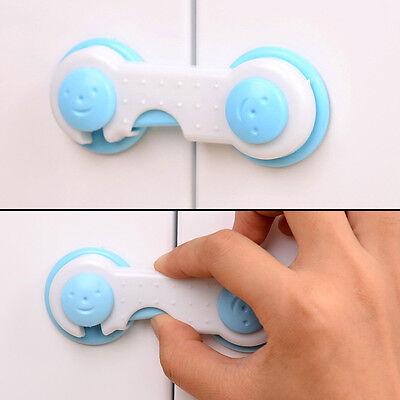 4 pcs Baby Kids Drawer Cupboard Cabinet Wardrobe Door Fridge Safe Safety Lock