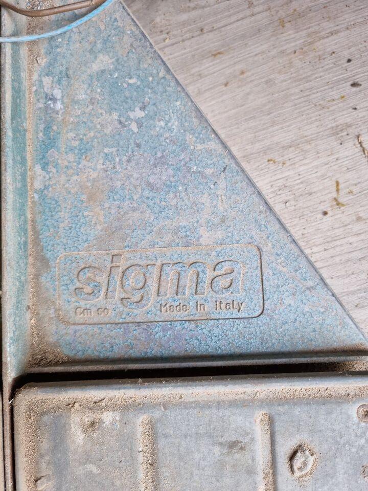 Fliseskærer, Sigma