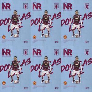 Aston-Villa-v-Manchester-United-2020Premier-League-Programme-Fast-Free-Shipping