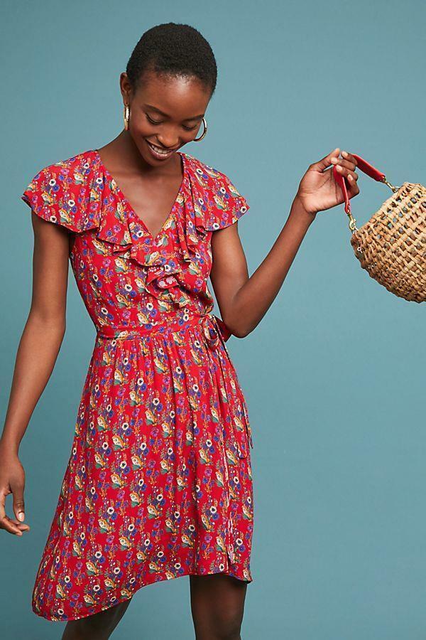 9fa8069c86c2 ANTHROPOLOGIE pinklia Wrap Dress by 14 NWT MAEVE nagroa17114-Dresses ...