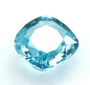 6.95 Ct Natural Extreme Bi-Color Sapphire Cushion Cut Certified Loose Gemstone