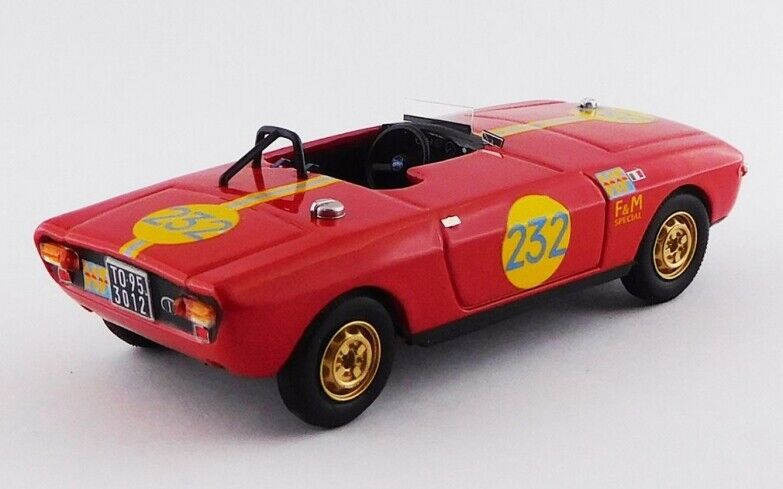 BEST MODEL BES9743 - Lancia Fulvia F&M Special HF  252 - 1969 Pinto 1 43