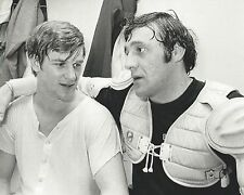 BOBBY ORR & PHIL ESPOSITO 8X10 PHOTO BOSTON BRUINS NHL PICTURE HOCKEY