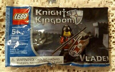 LEGO Castle Knights Kingdoms II Super Rare New 5998 Vladek /& 5994 Catapult