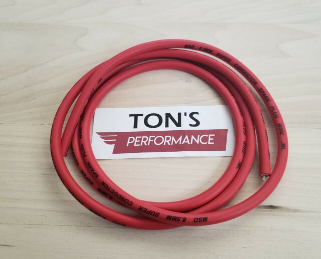 MSD Ignition 34039 8.5mm Super Conductor Spark Plug Wire Set