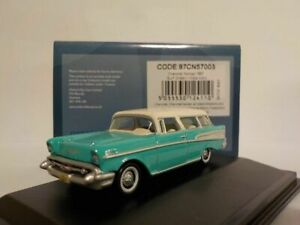 Model-Car-Chevrolet-Nomad-1957-Green-1-87-oxford-87cn57003
