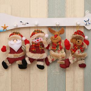 Eg-Ornamento-di-Natale-Babbo-Pupazzo-Neve-Alce-Orso-Albero-da-Appendere