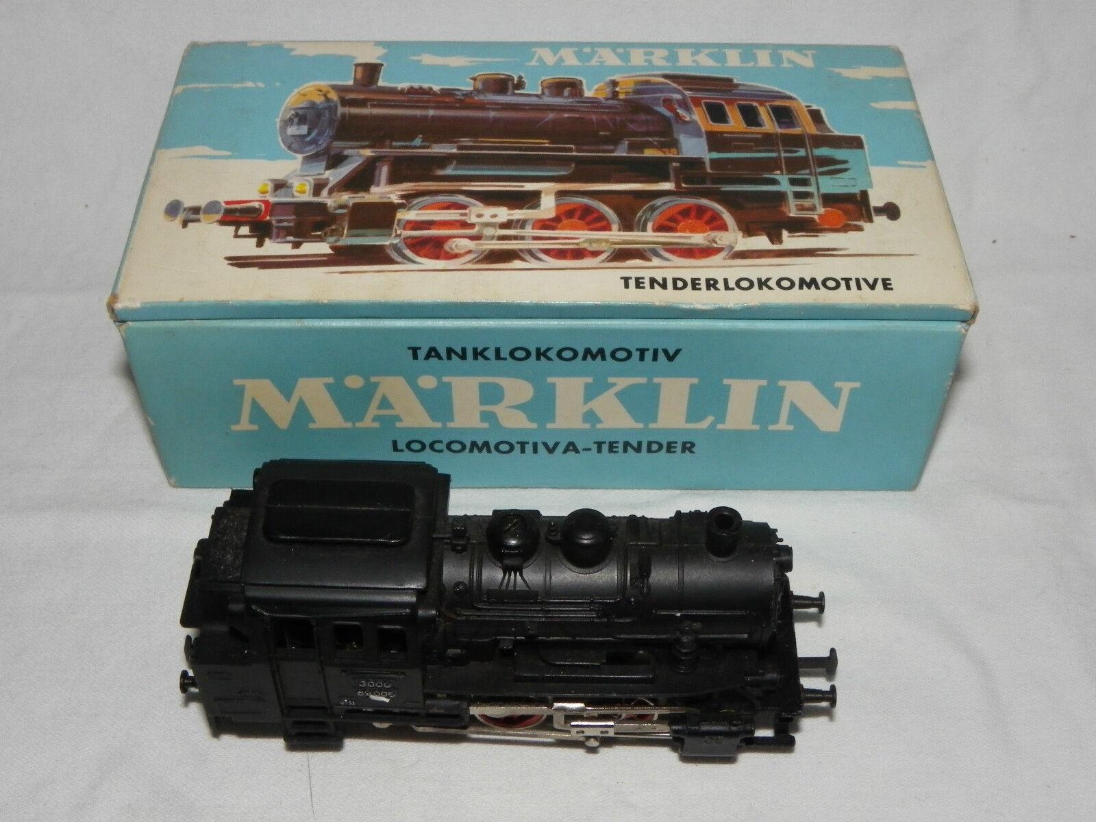 Märklin HO Tenderlokomotive 3000 Dampflok BR 89005  in OVP  | Erste Kunden Eine Vollständige Palette Von Spezifikationen