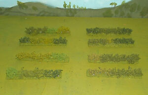 Wargames 15mm HEDGES rapidfire, Flames of war, WW2, made by FatFrank