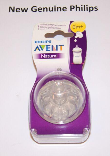 Bottle Feeding Philips Avent Natural Newborn Nipple 0Month+ 2 Pack ...