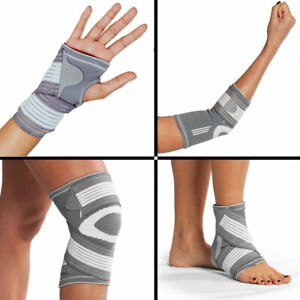 Adjustable Knee Ankle Elbow Wrist Compression Support Elastic
