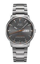 Mido Commander II Gray Dial Steel Men's Swiss Automatic Watch M0214311106101