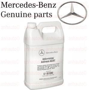 mercedes benz engine coolant antifreeze (1 gallon) (blue color) ebay Mercedes Benz Engine Sludge image is loading mercedes benz engine coolant antifreeze 1 gallon blue