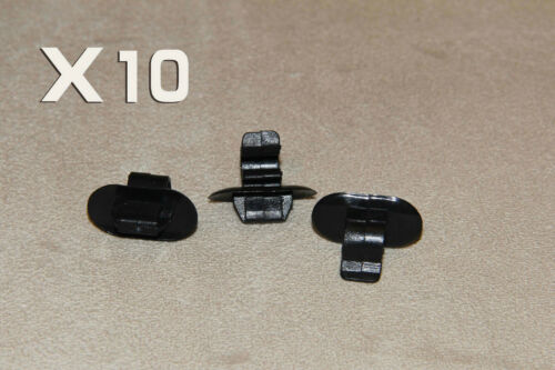MG HOOD BONNET BRAKE CLUTCH PIPE/&CABLE HOLDER CLIPS 10PCS