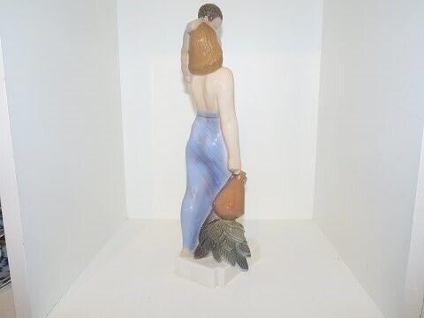 Porcelæn, Stor Dahl Jensen figur  Moder med barn, Stor