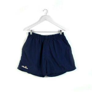 90s ELLESSE vintage shorts tennis court heritage navy sports athletic 36 XL