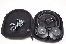 JVC HA-NC250 Noise Cancelling Headband Headphones w/ Case - Black