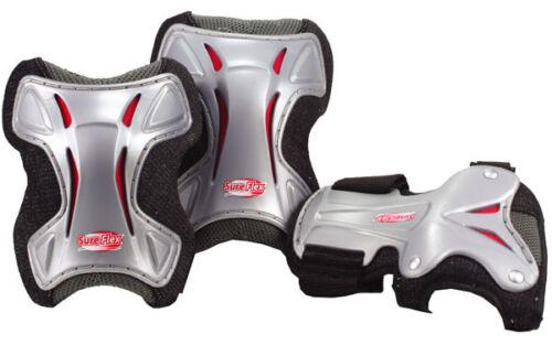 Adult Large Roller Derby Bone Shieldz Deluxe 51550-3 Knee Elbow Wrist Guards