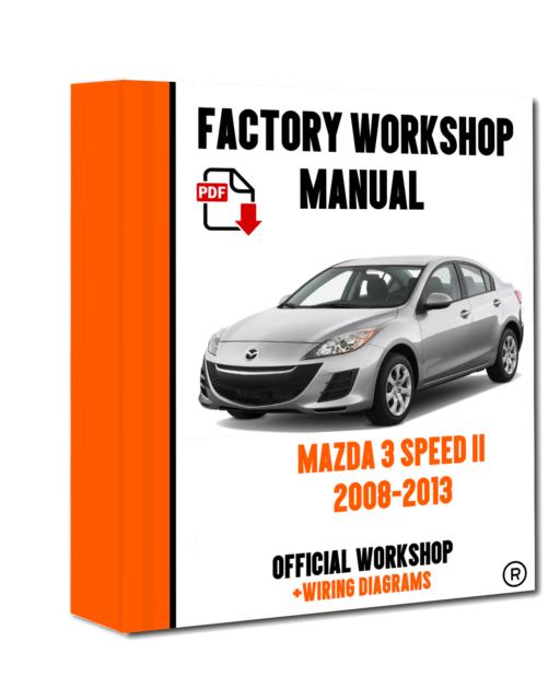 mazda 3 repair manual online