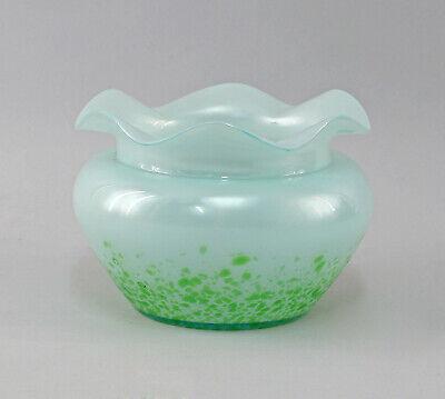 8435021 Glas Vase Jugendstil Wilhelm Kralik Sohn Böhmen Um 1900 Exquisite Handwerkskunst;