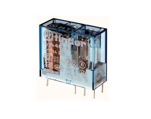 Relè relay 6V 6Vcc 8A a 2 scambi contatti in miniatura 6Vdc finder 8161