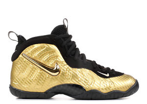 online store 726ee 8a4a4 Image is loading Nike-Air-Foamposite-Pro-Metallic-Gold-Black-Size-
