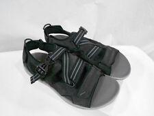 Clarks $115 Wave.Nomad Mens US 9 Black Suede Leather Sandal Shoe 63425 Sample