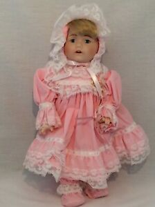 Vintage-CHSN-La-Collection-Artisan-1990-TERRILEE-12-034-doll-limited-edition-Music
