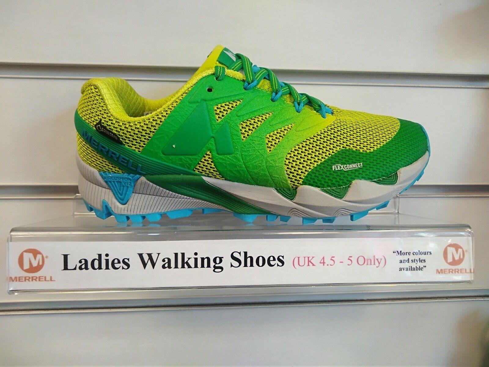 Merrell Damas agilidad Gore-Tex  GTX Impermeable Trail Corriendo Entrenador Zapatos 4.5  producto de calidad