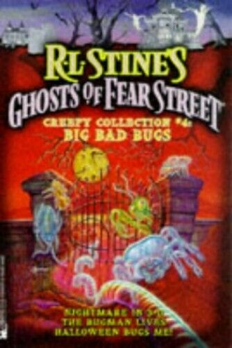 """Big Bad Bugs: """"Nightmare in 3-D"""", """"Bugman Lives"""", """"... by Stine, R. L. Paperback"""
