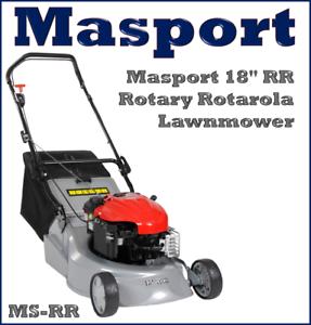 Masport-RR-18-034-Petrol-Rotary-Alloy-Deck-Lawnmower-MS-RR-Lawn-Mower