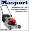 Masport-RR-18-034-Petrol-Rotary-Alloy-Deck-Lawnmower-MS-RR-Lawn-Mower thumbnail 1