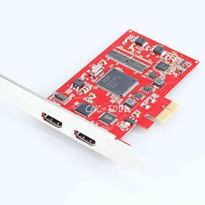 HDMI Video Capture Card PCI-E Grabber 1080P Video Sources Game OBS LivHV PL