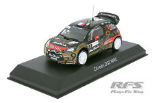Citroen DS3 WRC - Loeb / Elena Rallye de France Alsace 2013 - 1:43 Norev 155361