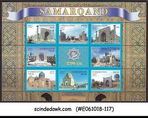 UZBEKISTAN-2007-2750-YEARS-OF-SAMARKAND-MIN-SHT-MNH