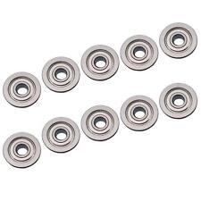 10pcs F604zz Metal Double Shielded Flanged Ball Bearings 4mm12mm4mm