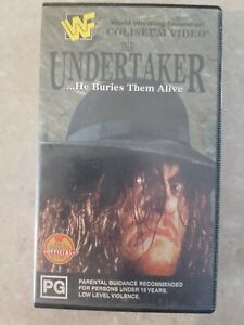 THE-UNDERTAKER-HE-BURIES-THEM-ALIVE-VHS-VIDEO-WWE-WWF-RARE-1995-COLISEUM-VID
