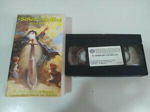 EL-SENOR-DE-LOS-ANILLOS-TOLKIEN-ANIMACION-VHS-Cinta-Castellano