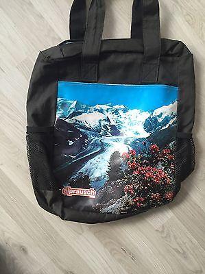 Alprausch Suisse Swiss Tragetasche Plane Handtasche . Blogger Np 119EUR