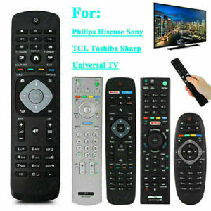 Universal TV Remote Control for Sony Sharp Philips TCL Toshiba Hisense Hitachi