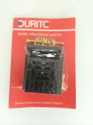 DURITE 0-729-02 UNIVERSAL FLASHER//RELAY SOCKET WITH TERMINALS