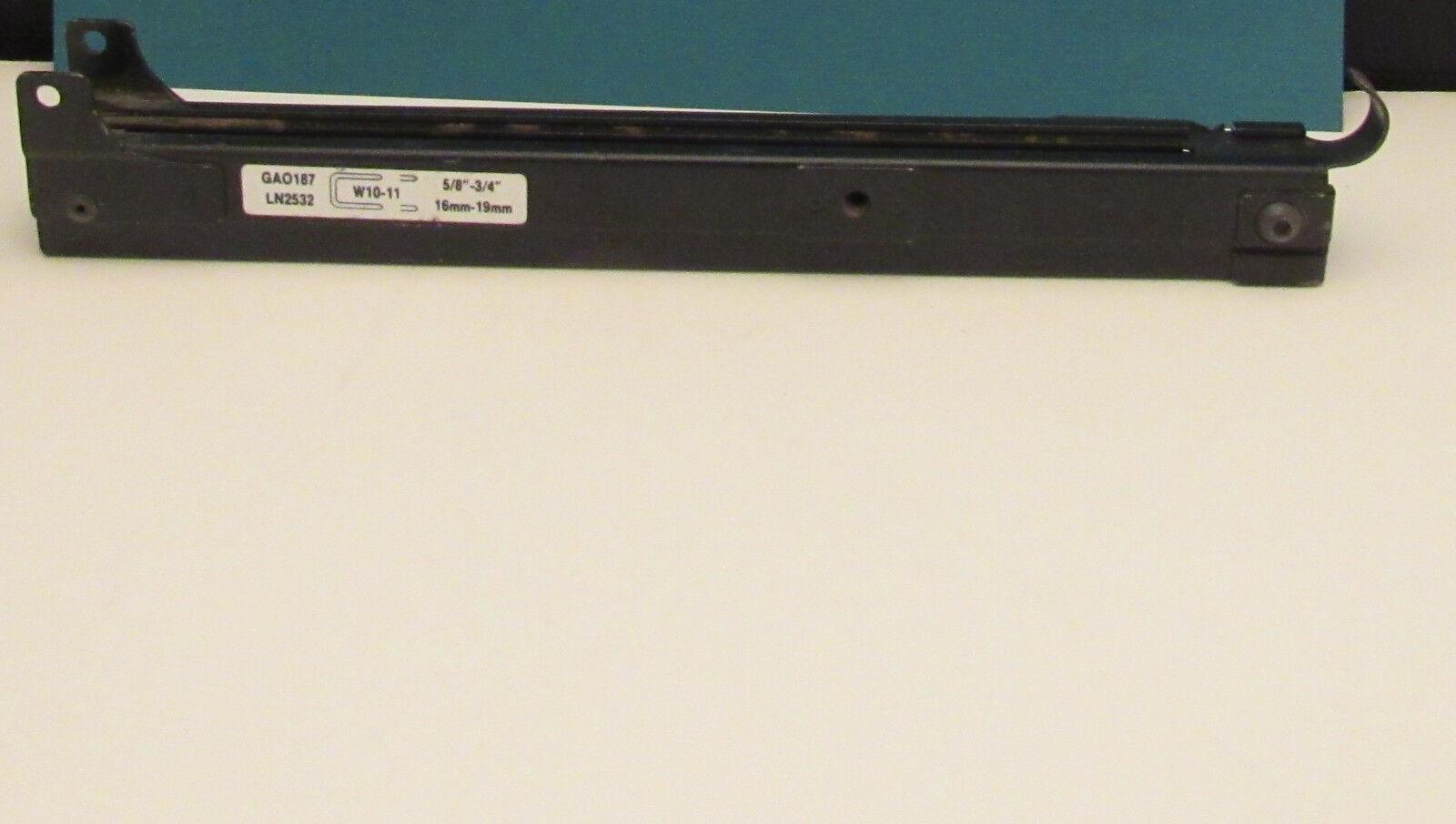 SENCO GA0187 Magazine   Rail ASSEMBLY for LN2532 3 4  Stapler