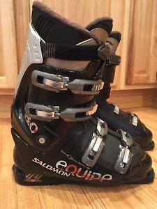 Men-039-s-Salomon-Equipe-PROLINK-8-0-Performa-Ski-Boots-Size-10-5-US-326MM