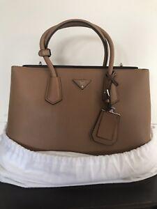 Image Is Loading Never Used Authentic Prada Handbag Saffiano