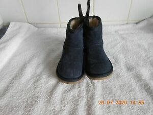 M \u0026 S INFANT GIRLS BLUE SUEDE BOOTS UK