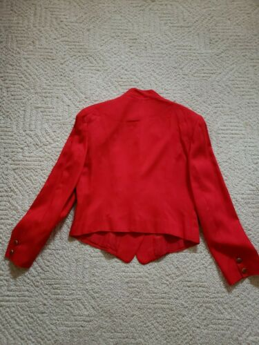 Suit Pc Military Womens And Inspired 2 red Jacket Skirt OngaxX