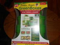 Debbie Meyer Ultralite Green Boxes Greenboxes Food Storage Containers Set